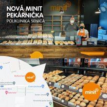 Nová pekárnička na Poliklinike v Senici