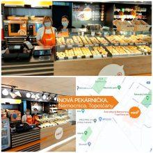 nová pekárnička Topolčany