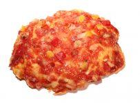 Mini pizza bacon LR