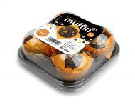 Muffin bw obal 3 D