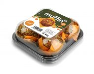 Muffin mrkva obal 3 D